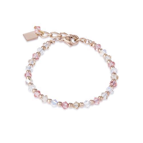 Armband rosé mit Swarovski®-Kristallen