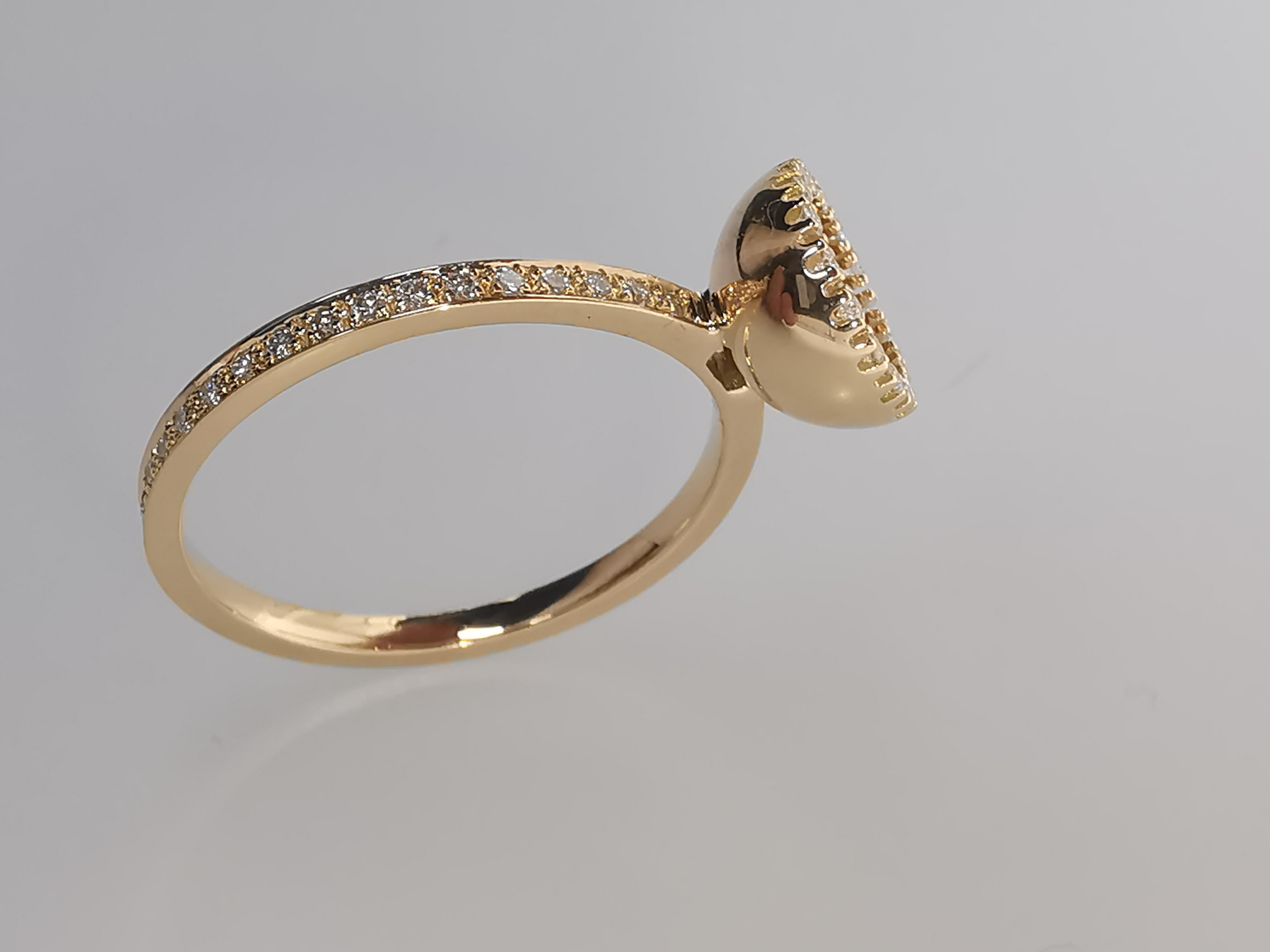 Brillantring 750 | 18 Karat Gold