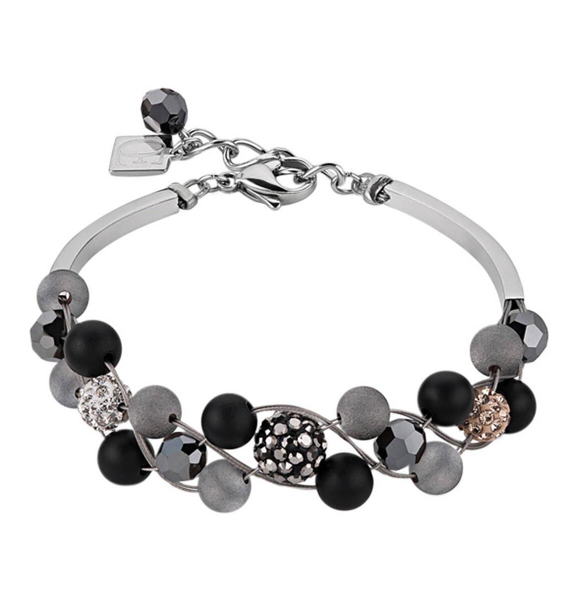Armband mit Achat und Onyx