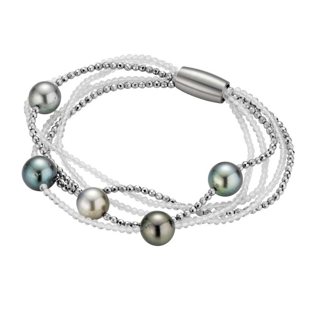 Armband mit Tahiti Silber