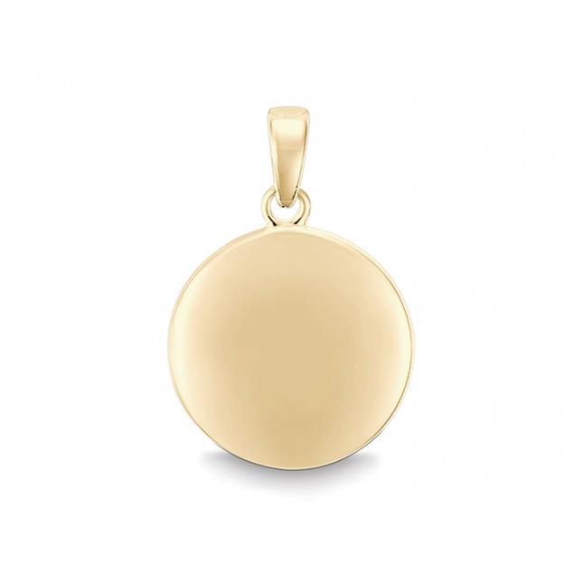 Gravurplatte 585 | 14 Karat Gold