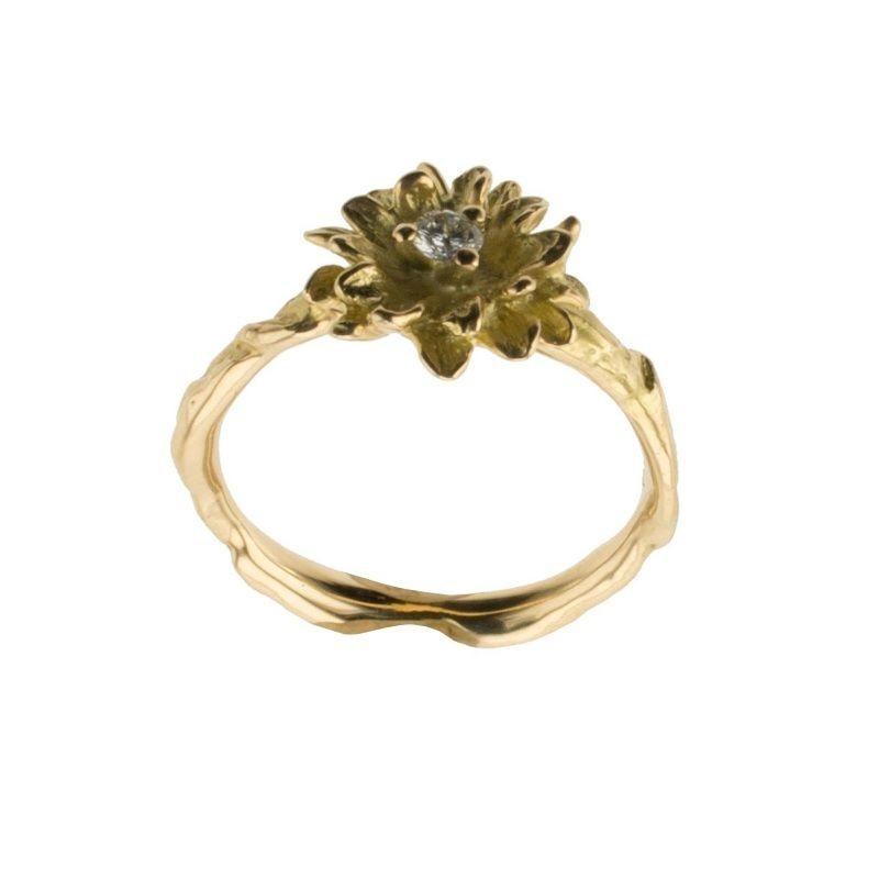 Ring mit Brillant Gold 750
