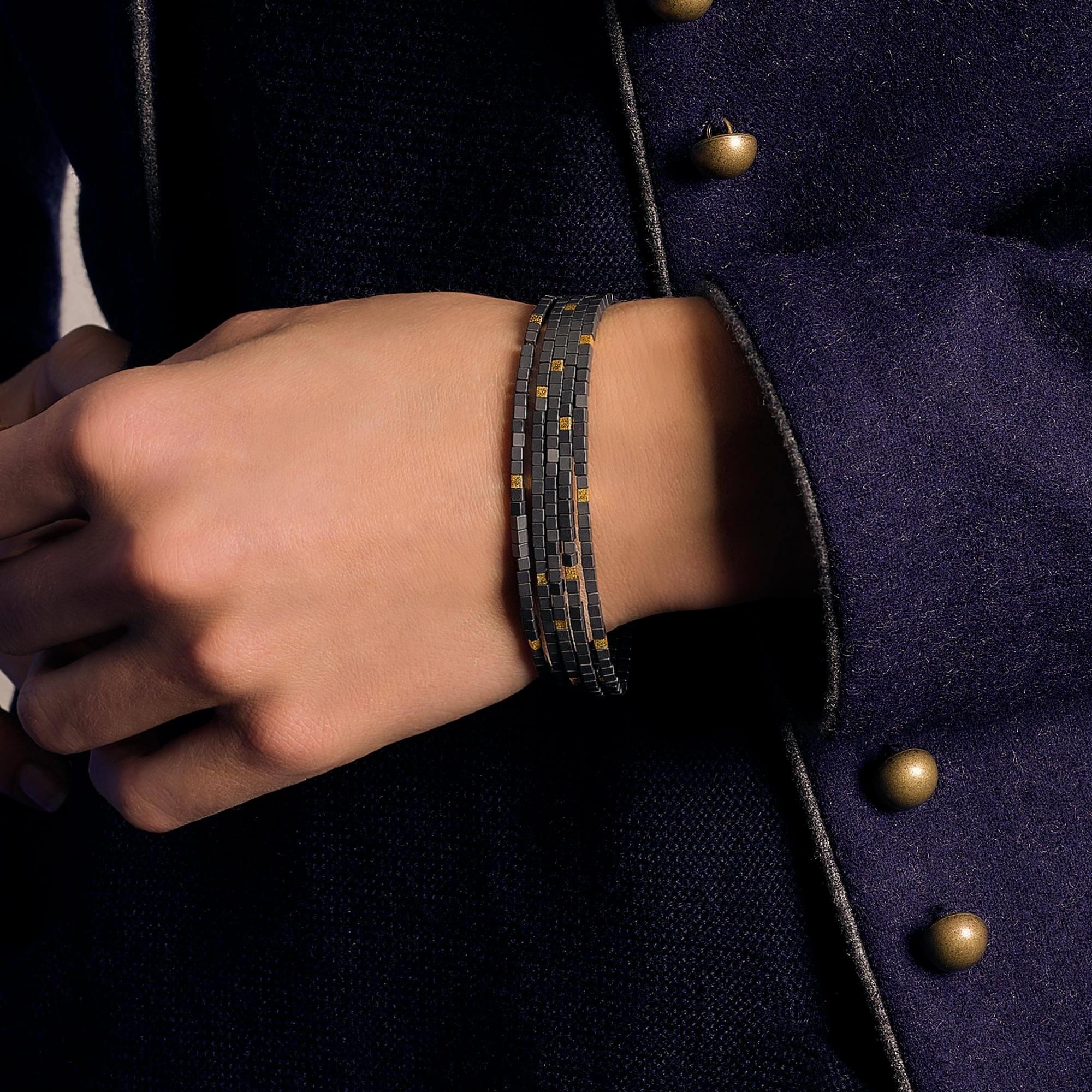 Armband mit Hämatit