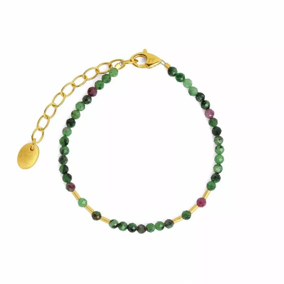 """Armband """"Cletra"""" Rubin-Zoisit"""