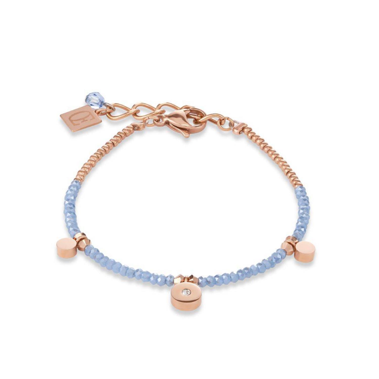 Armband hellblau - rosé