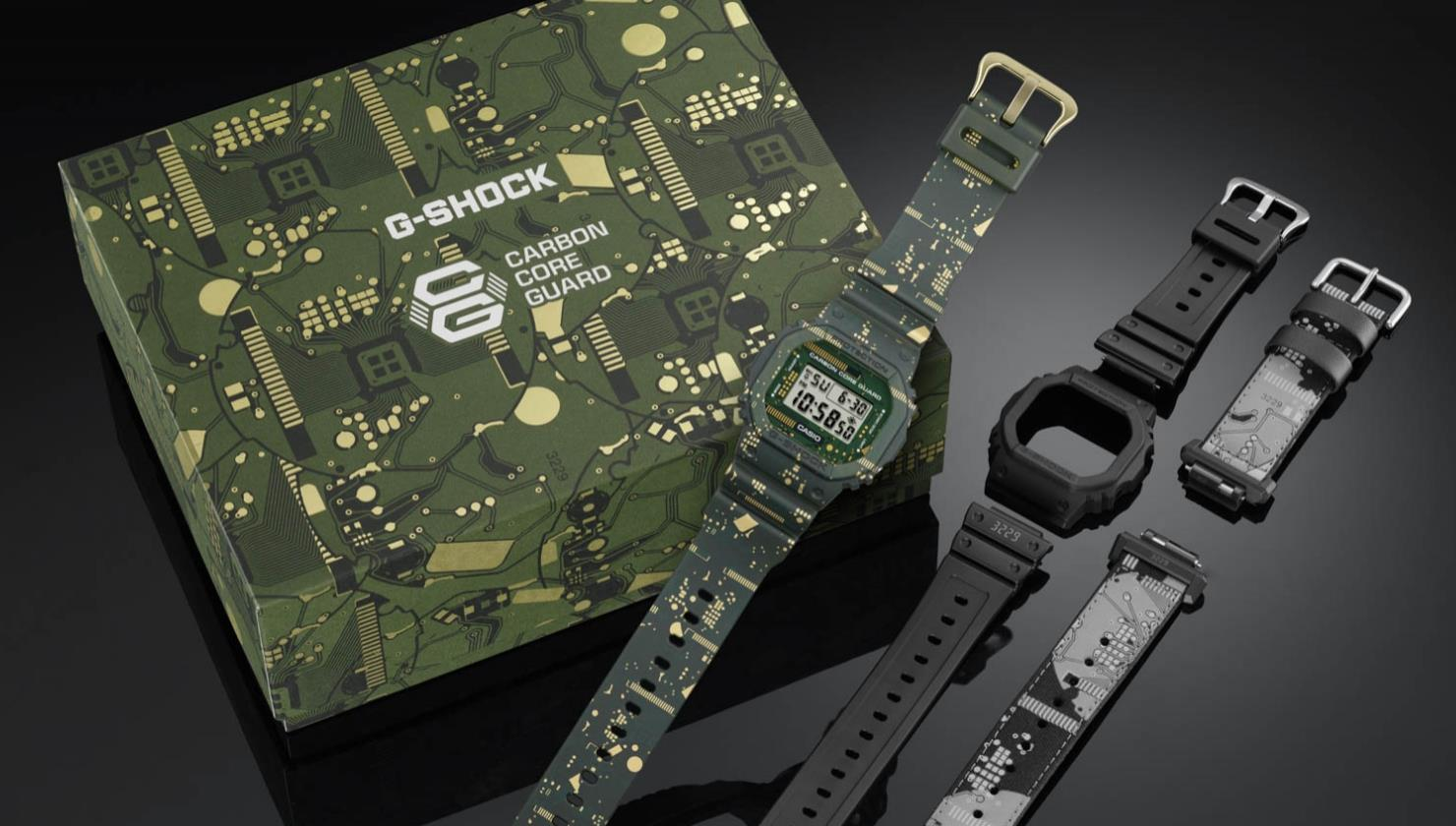 G-Shock Origin Platine