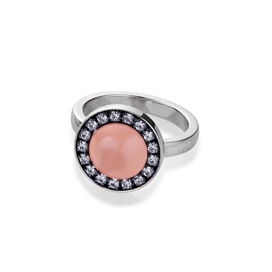 """Ring """"Peach"""" mit Swarovski® Kristallen"""