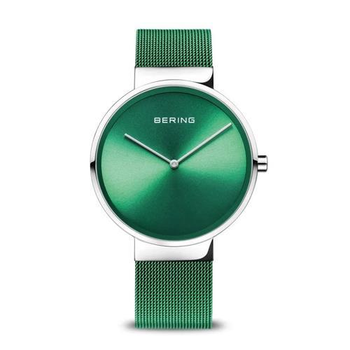 BERING Classic grün Saphirglas