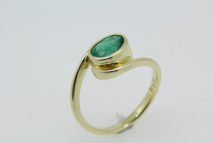Farbsteinring Gold 585