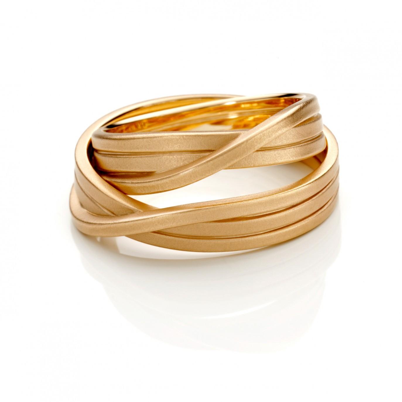 Ring Rotgold 750